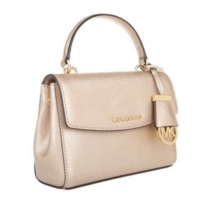MICHAEL KORS Ava XS Crossbody Gold